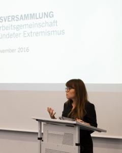 Gründungsveranstaltung der Bundesarbeitsgemeinschaft religiös begründeter Extremismus